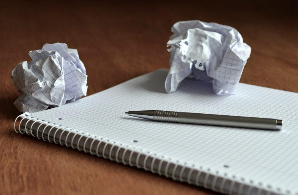 Dépasser ses pensée limitantes : Le peur d'écrire