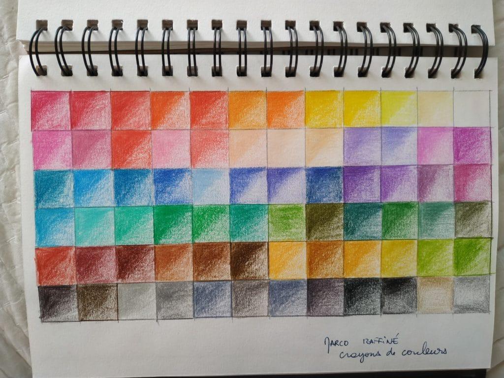 Crash test de crayons de couleur, illustration de mariage