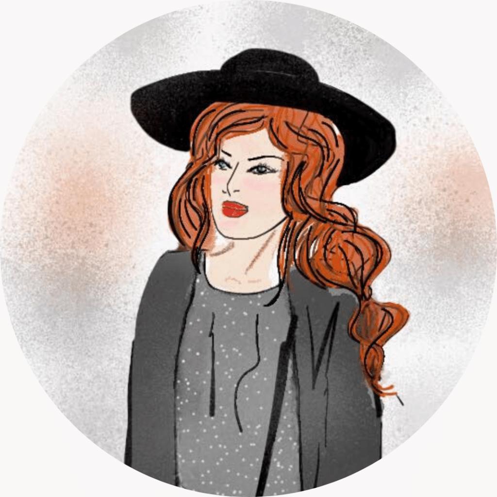 Avatar ActivieLilie, femme élégante, au chapeau les cheveux libres