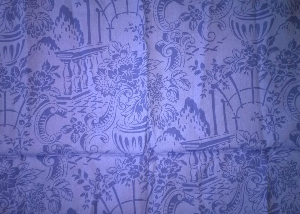 Tissu pour masque au choix, bleu, inspiration rome antique