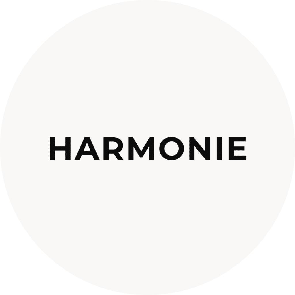 Harmonie, un des pilliers du mindset de l'élégance