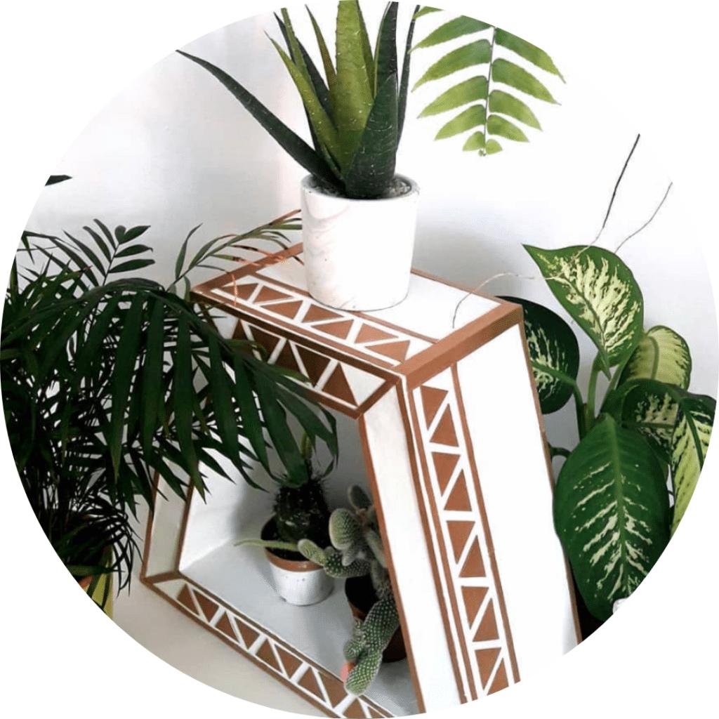 Meuble en carton recyclé, mobilier solide et resistant